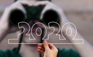 2020年を双眼鏡で覗く画像